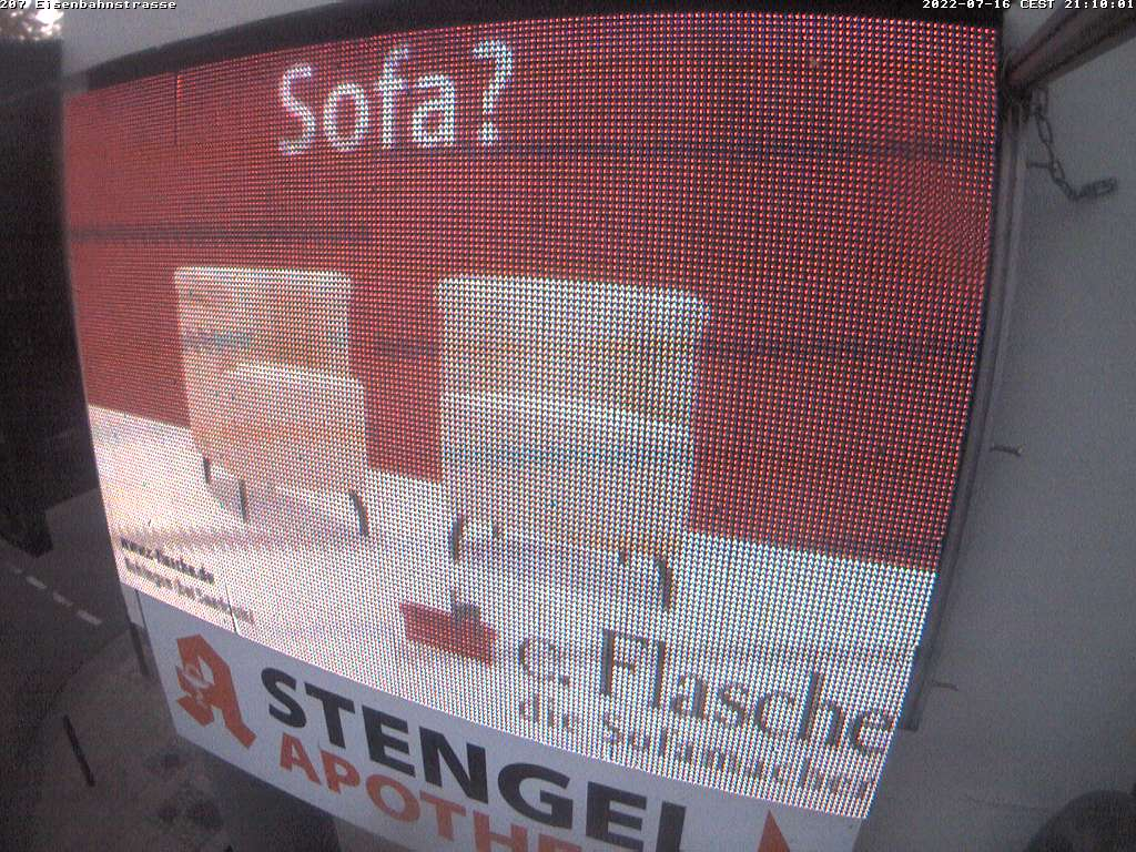 (207) Videowall Saarbrücken Eisenbahnstr.