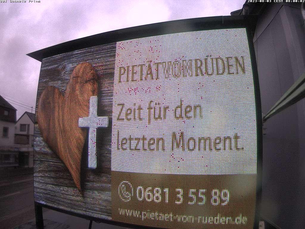 (901) Videowall Schmelz Primsbrücke